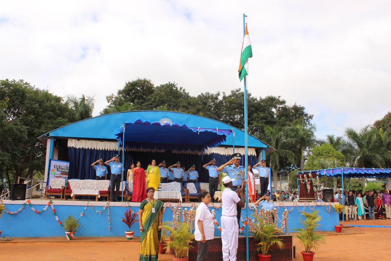 Independence Day 2019-20 - Airforce School Yelahanka