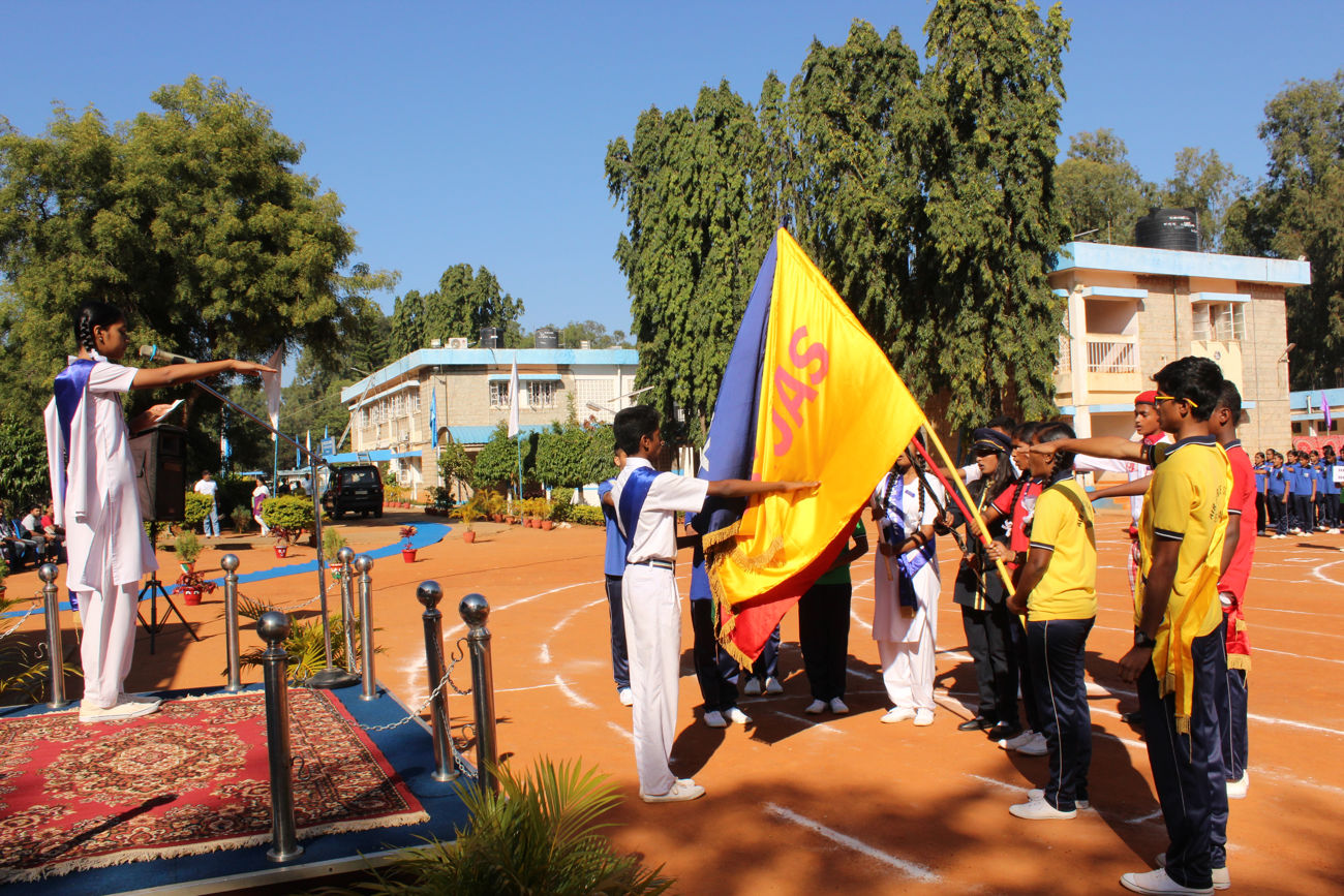 Sports Day - Airforce School Yelahanka