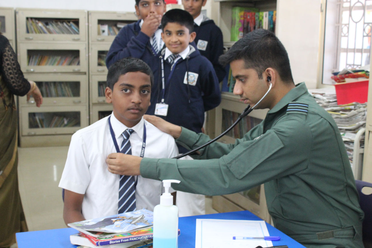 ANNUAL MEDICAL CHECKUP - Airforce School Yelahanka