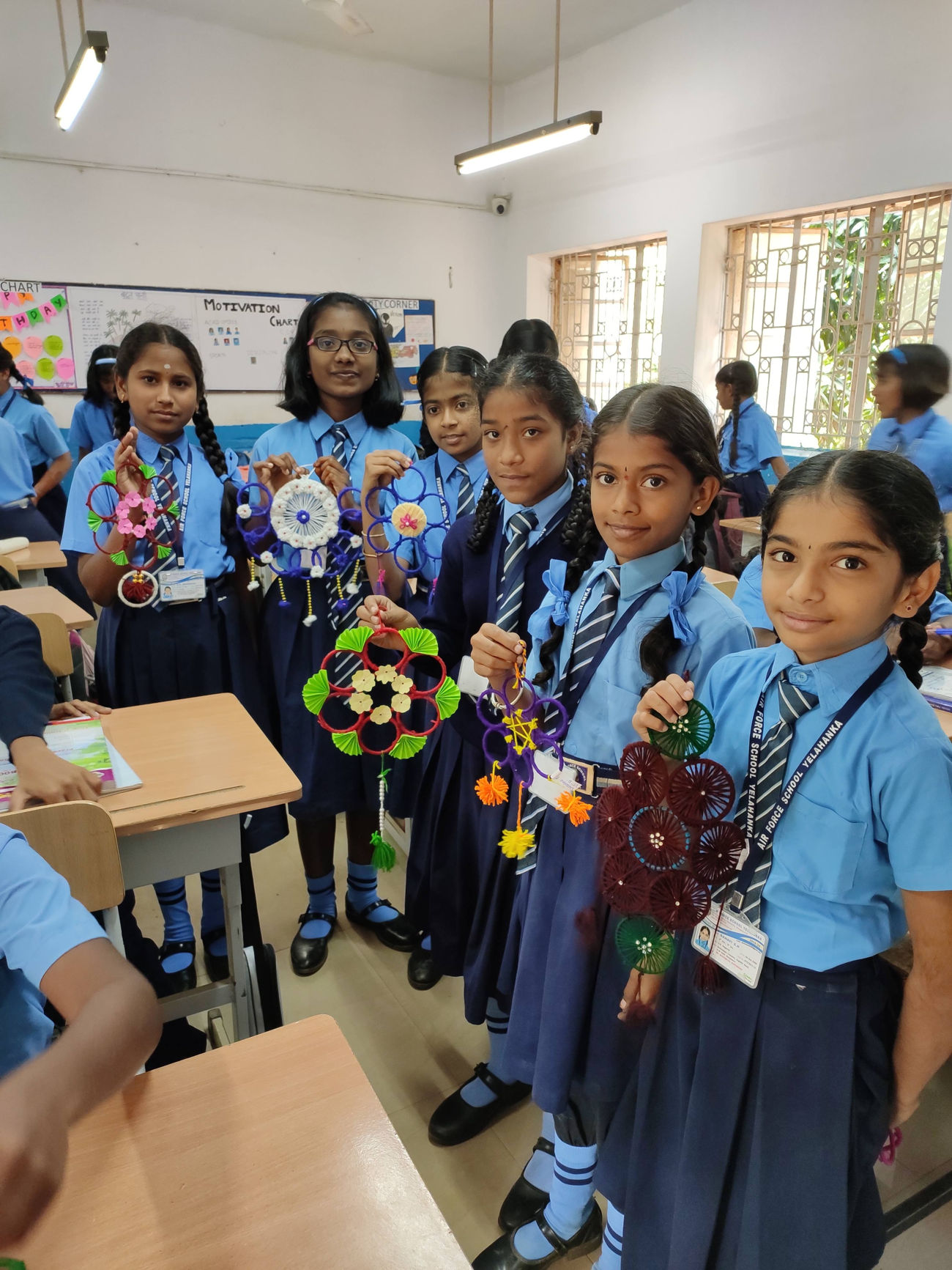 CCA ACTIVITIES - PRIMARY SECTION  - Airforce School Yelahanka